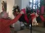 Helfer in der Weihnachtszeit