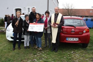 Spende Elisabethenverein für Autos amb. Krankenpflege - Herbst 2015